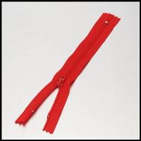 Red No. 2 Nylon Zipper
