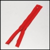 Red No. 2 Nylon Zipper