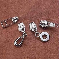 Vacuum-Plated Zipper Sliders