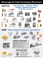 Beverage & Food Packaging Machinery