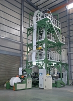 FFS BAGS 3-LAYER CO-EXTRUSION INFLATION MACHINE