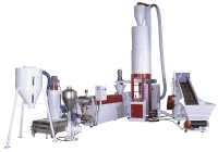 CRUSHER CYCLONE FEEDING,DIE-FACE CUTTING RECYCLING MACHINE