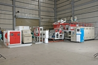 3-LAYER CO-EXTRUSION CASTING STRETCH FILM MAKING MACHINE