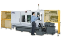 Both End Cutting CNC Lathe