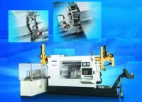 Both end cutting CNC Lathe