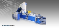 SHREDDER EXTRUDER PELLETIZER COMBINATION EQUIPMENT FOR FILM