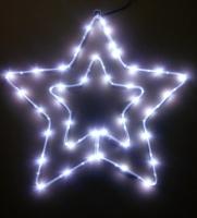 銅線電池盒雙星造型燈