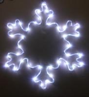 銅線電池盒雪花造型燈