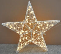 3D STANDING STAR FIGURE LIGHT SET