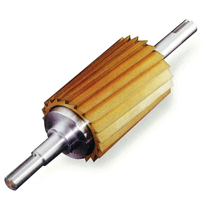 Round blades for granulating machines
