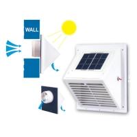 Solar-powered Mini Wall Fans/Vents