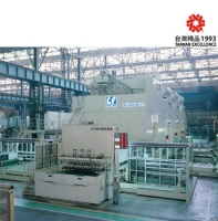 Straight side 4-point link drive eccentric gear press Fully Automatic Tandem Line