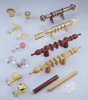 Curtains, blinds, and accessories , Metal Parts, Fittings, and Accessories