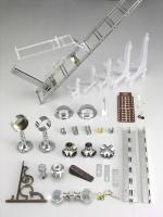 管類固定器及玻璃五金固定器、氣壓棒支架、把手、鑰匙