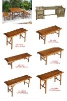 竹休閒折合桌椅