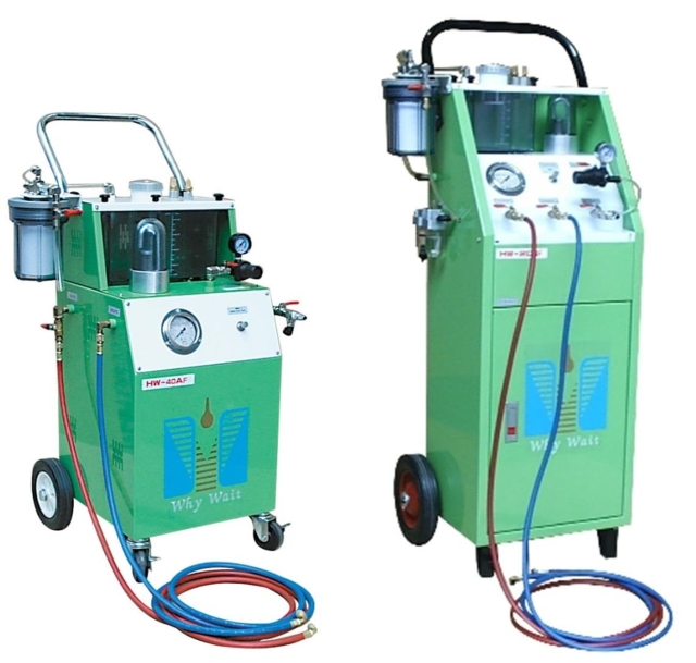 Automatic Circulation - A/C System Flush Machine