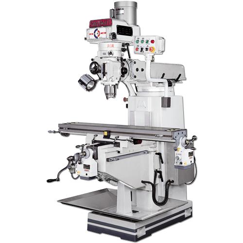 Machine Center, Knee type Milling machine, Vertical turret Milling machine