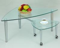 桃型活动桌