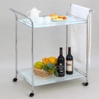 Cens.com 2-tier Trolley W/Iron-wire Frame TAI JIE GLASS CO., LTD.