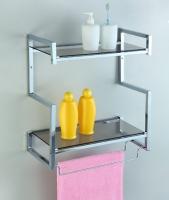 S-shaped Wall-mount Square-tube Racks (L)