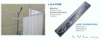 L&U shower curtain rail