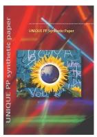 UNIQUE (Synthetic Paper)