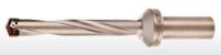 Straight shank spade drills, helical flute