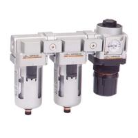 空气调理组合(过滤器+油雾分离器+调压阀)