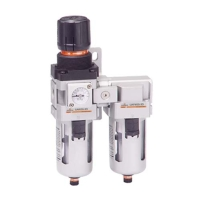 Filter Regulator+Mist Separator