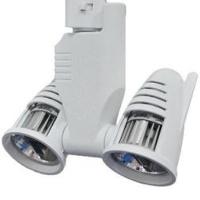 LED Track Lighting Fixture Twin Head