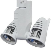 LED Track Lighting Fixture Twin Head