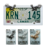 LICENSE PLATE SCREW COVER