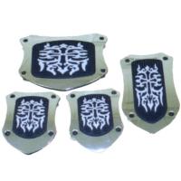 Pedal Pads-Shield/Emboss