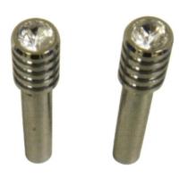 Lock Knob-Bull Nose-W/Diamond