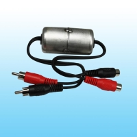 Noise filters (ground loop isolator)