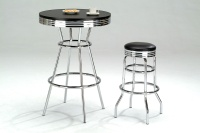 Bar Counters and Stools, Swivel-top Stools