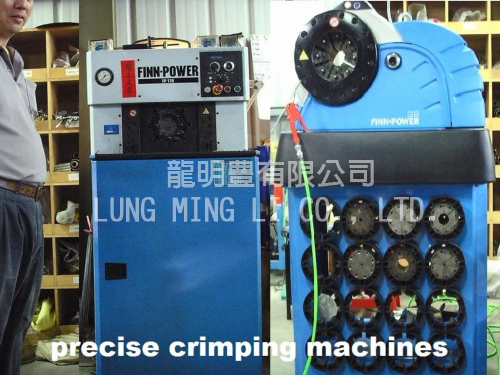 Finn Power Crimping Machine | LUNG MING LI CO , LTD  | Product