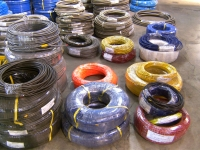 PTFE Braided Hose with polyster /  PVC cover