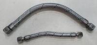 白鐵金屬軟管(兩端鉚合H牙白鐵接頭)