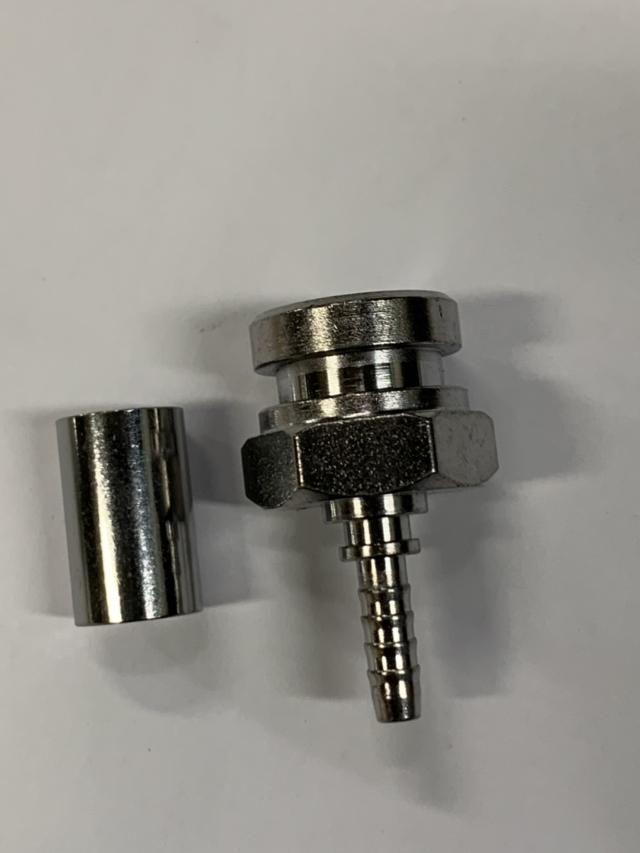 M10*1.0 Female Convex Fitting Set-CR