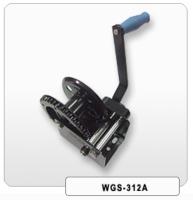 Brake device winch