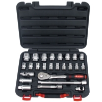 25 Pieces Socket Set
