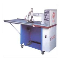 Electric Canvas Heat Sealing Machine
