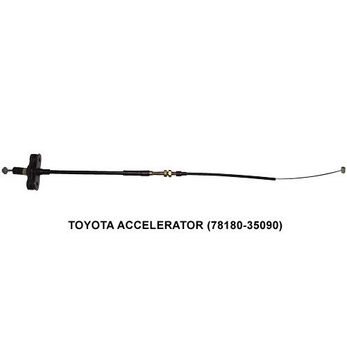 TOYOTA 加油门线 (Auto Cable)汽车导线
