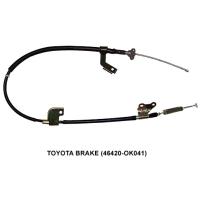 TOYOTA Brake/auto cable