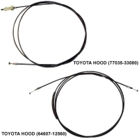 TOYOTA Hood (Auto Cable)