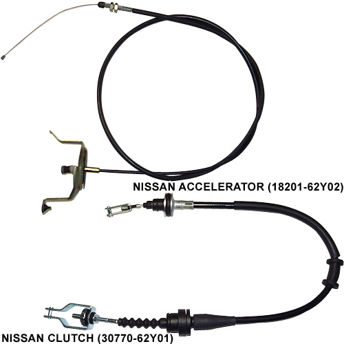 NISSAN Accelerator / Clutch (Auto Cable)
