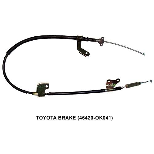 SUBARU 加油门线、离合器线、刹车线、变速线 or强迫排挡线、擎盖拉线or油箱盖拉线or后箱盖、路码表线 (Auto Cable)