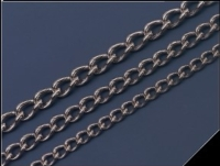 Steel / Stainless steel twist link chain
