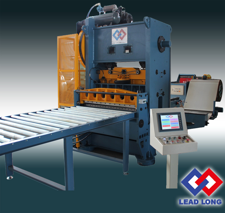 HIGH SPEED PLANO-TYPE PERFORATED METAL MACHINE